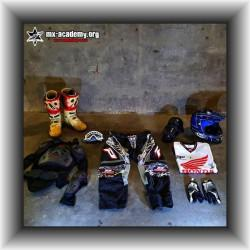 motocross ausr stung gebraucht. Black Bedroom Furniture Sets. Home Design Ideas
